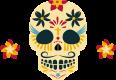 ícone caveira