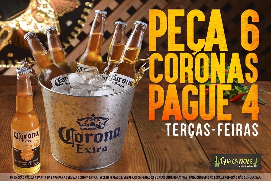 Corona - Leve 6, pague 4