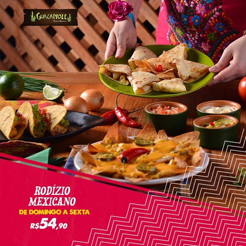 Rodízio Mexicano 54,90