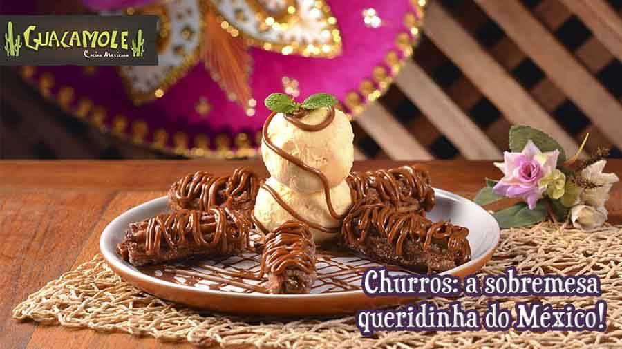 Churros: a sobremesa queridinha do México!