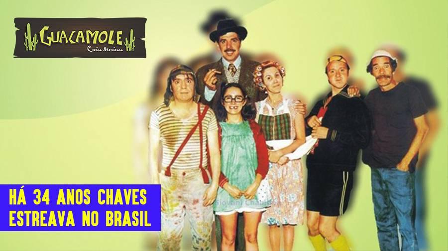 Há 34 anos Chaves estreava no Brasil