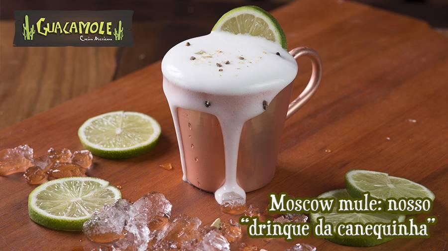 """Moscow mule: nosso """"drinque da canequinha"""""""