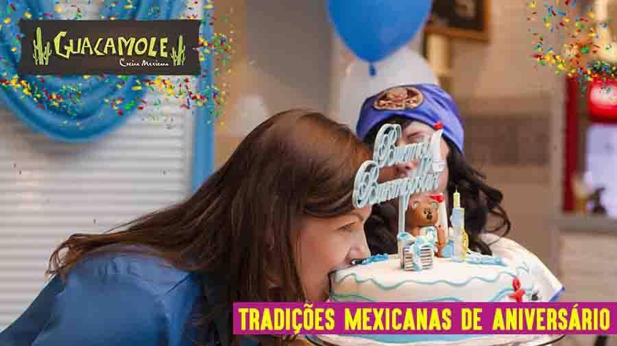 Tradições mexicanas de aniversário