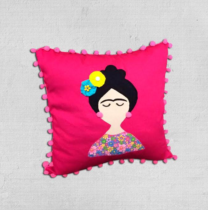 Capa de almofada Frida Kahlo