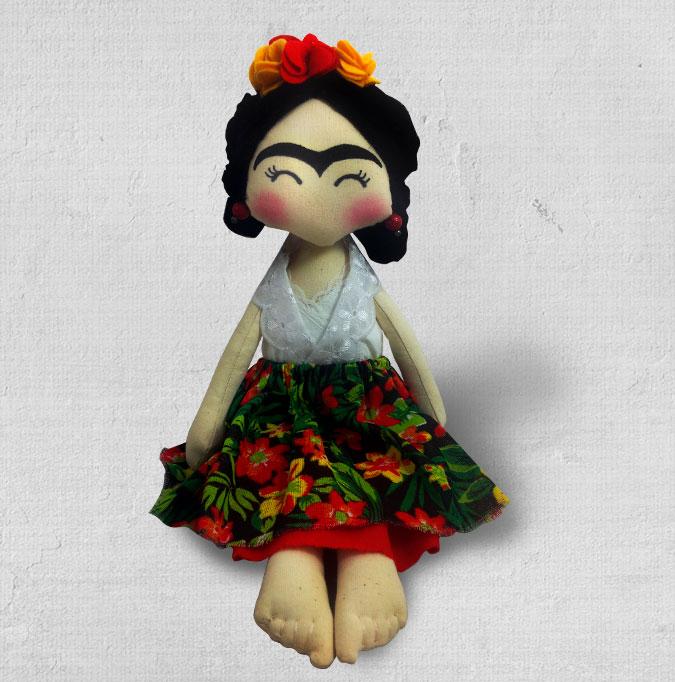 Boneca Frida Kahlo