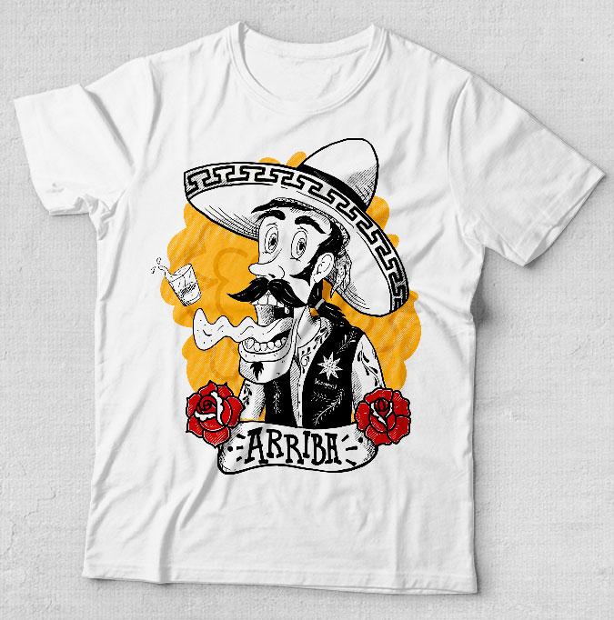 Camiseta 10 anos Guacamole