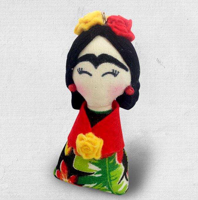 Chaveiro mini Frida Kahlo